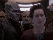 Weyoun will mit Sisko alleine sprechen