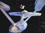 Zetarians approaching the Enterprise