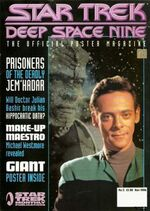 DS9 Poster Magazine issue 3 cover