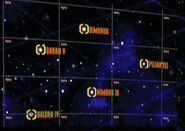 Daran V, Dimorus, Kaldra IV, Nimbus III, Peliar Zel