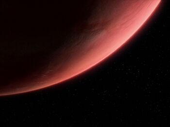 Dytallix B from orbit