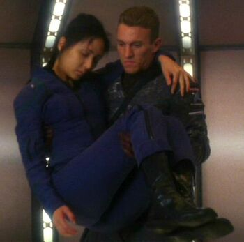 Kelly returns to <i>Enterprise</i> with Hoshi Sato