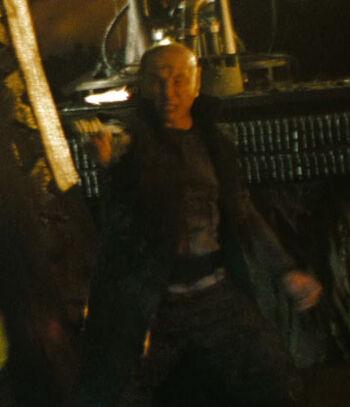 ...as a Romulan crewmember