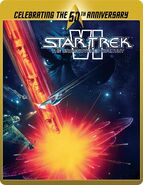 Star Trek VI The Undiscovered Country Blu-ray cover Region B steelbook reissue