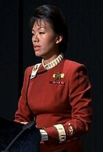Starfleet aide-de-camp