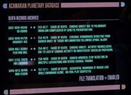 Acamarian Planetary database 4, remastered