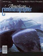 American Cinematographer cover December 1986