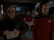 Ch'Pok will Worfs Herz vor Gericht stellen