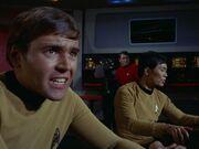 Chekov und Sulu