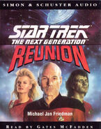 Reunion audiobook cover, UK cassette edition