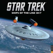 Ships of the Line 2017 cover
