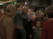 Sisko zurück auf Deep Space 9