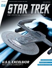 Star Trek Official Starships Collection issue 158