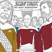 Star Trek The Next Generation Adult Coloring Book Continuing Missions cover
