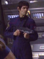 Vulkanischer Offizier 1 ISS Enterprise 2155