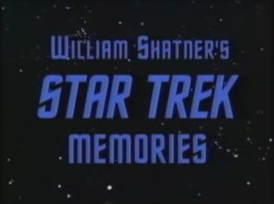 William Shatners Star Trek Memories