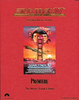 Star Trek IV The Voyage Home – Original Movie Script