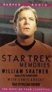 Star Trek Memories audiobook cover