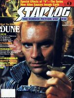 Starlog issue 091 cover