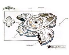 USS Defiant concept art