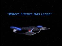 Where Silence Has Lease - scena tytułowa