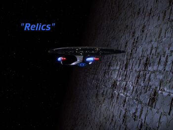 Relics title card
