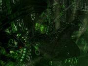 Borg cube hanger bay