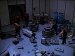 Ferengi cargo ship debris