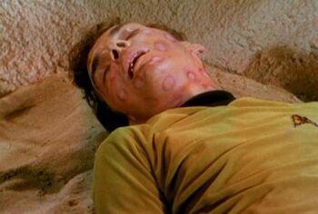 Crewman Green dead