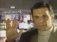 Hallmark Leonard Nimoy Shuttlecraft Commercial