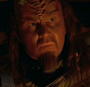 Klingon listening post officer