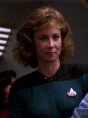 Krankenschwester Enterprise-D 2366 Sternzeit 43125