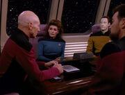 Picard berät sich abermals