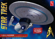 Round2 AMT Model kit AMT843 USS Excelsior 2016