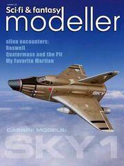 Sci-Fi & Fantasy modeller cover volume 23A