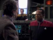 Sisko bricht nach Bajor auf