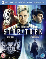 Star Trek 3 Movie Collection Region B cover