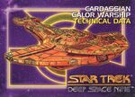 Star Trek Deep Space Nine - Season One Card093
