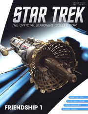 Star Trek Official Starships Collection Friendship 1 cover