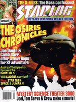 Starlog issue 225 cover