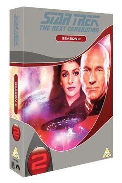 TNG Season 2 DVD-Region 2 new