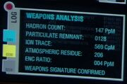 Weapon signature