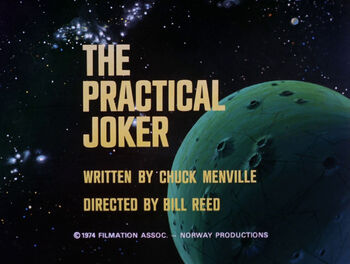 The Practical Joker title card