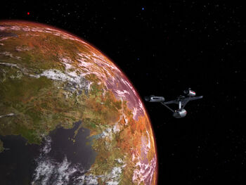 In orbit of Gamma Trianguli VI