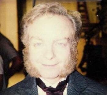 "Gleason on a makeup continuity polaroid for ""Time's Arrow, Part II"""