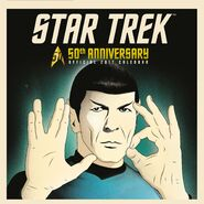Star Trek 50th Anniversary Calendar