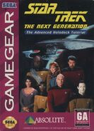 Star Trek TNG Advanced Holodeck Tutorial Game Gear Cover