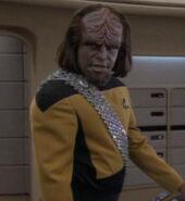 Worf hologram, 2369