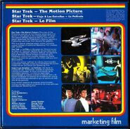 Back cover Star Trek The Motion Picture, Super 8