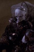 Crippled female Borg